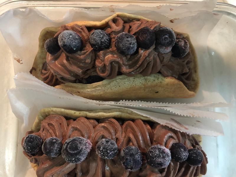 生酮版之白色情人節巧克力蛋糕卷