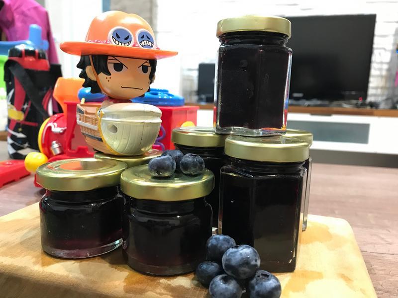 減糖藍莓果醬!