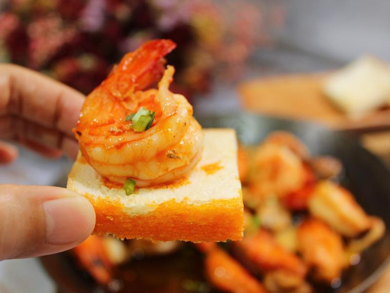 【十分鐘料理】西班牙蒜味蝦