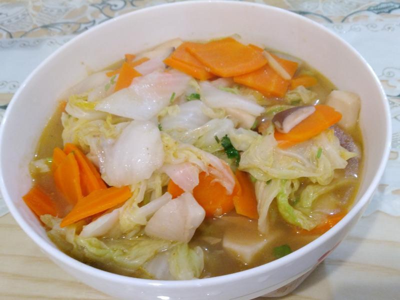 素食白菜滷