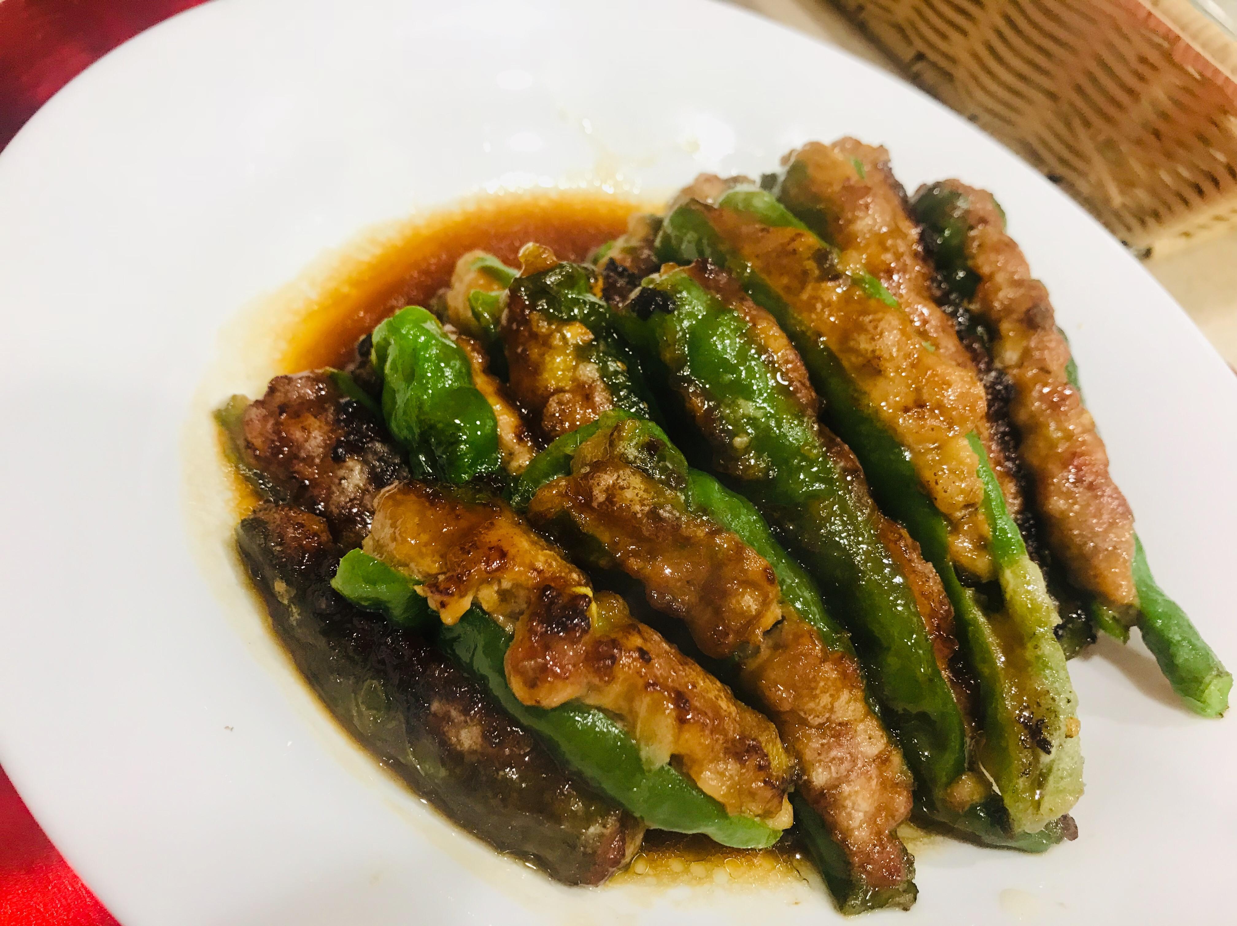 青椒釀肉 廚房的旋律