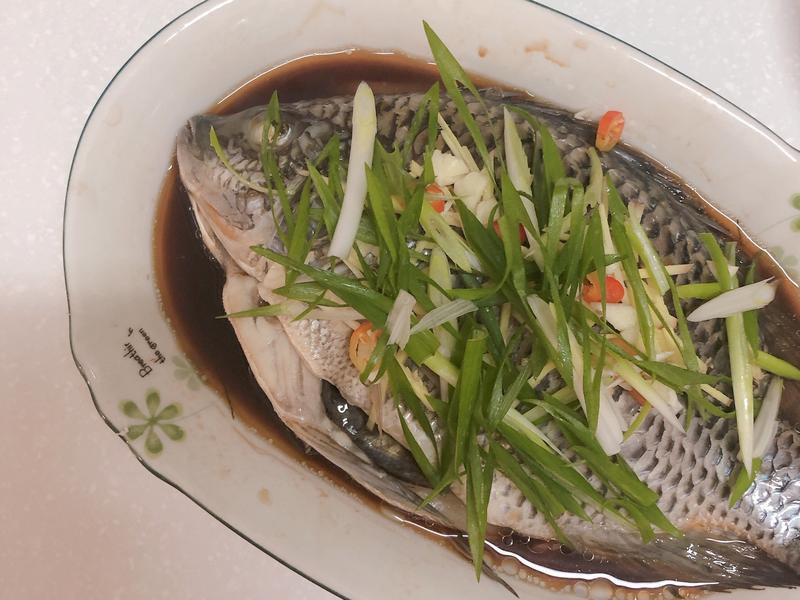 清蒸吳郭魚