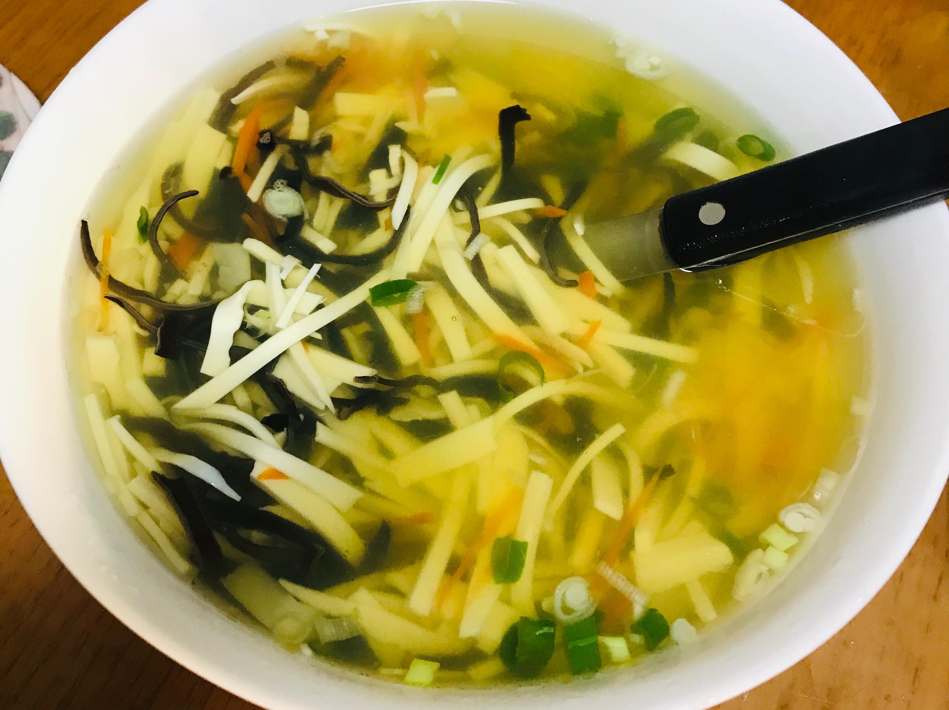 三絲蔬菜湯