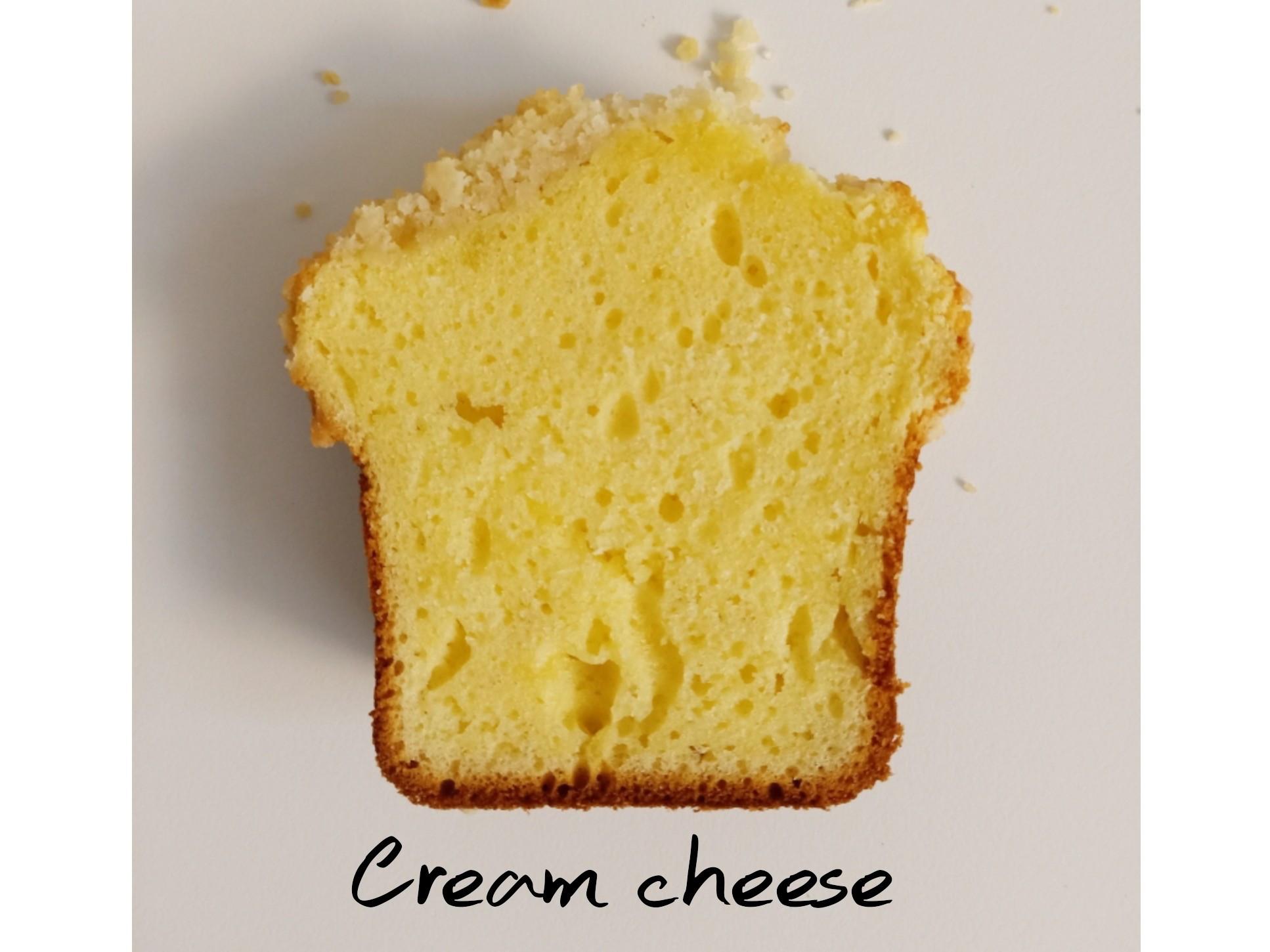酥粒奶油乳酪磅蛋糕