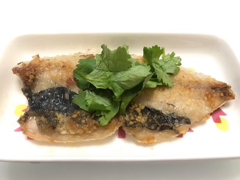 👩🏻🍳香煎虱目魚片-皮酥脆肉嫩