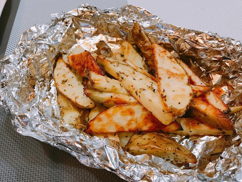 紐澳良烤馬鈴薯塊【烤箱料理】