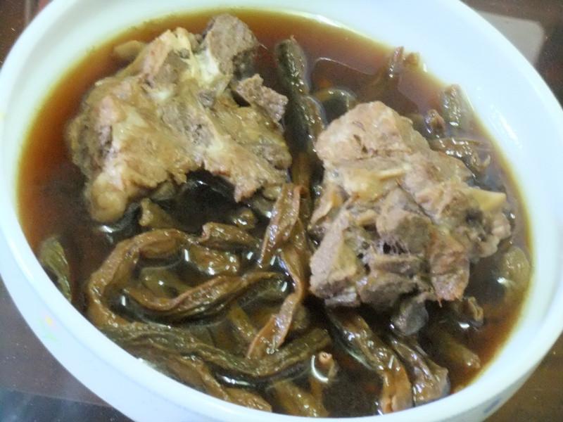 【大同電鍋料理】『客家排骨豆乾湯』
