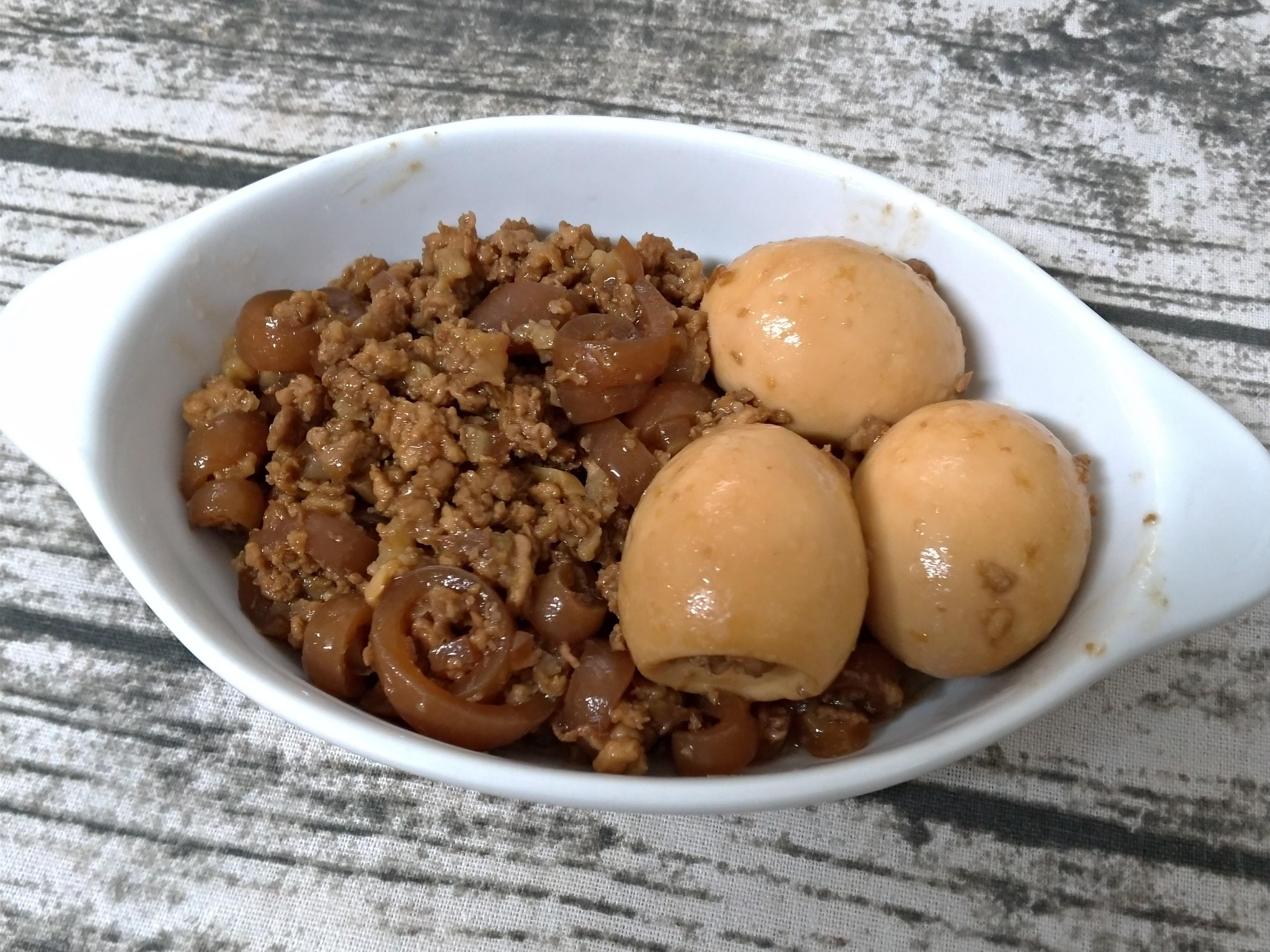 滷肉燥+QQ豬皮版