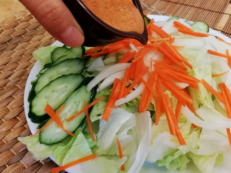 《韓式千島醬》萵苣沙拉