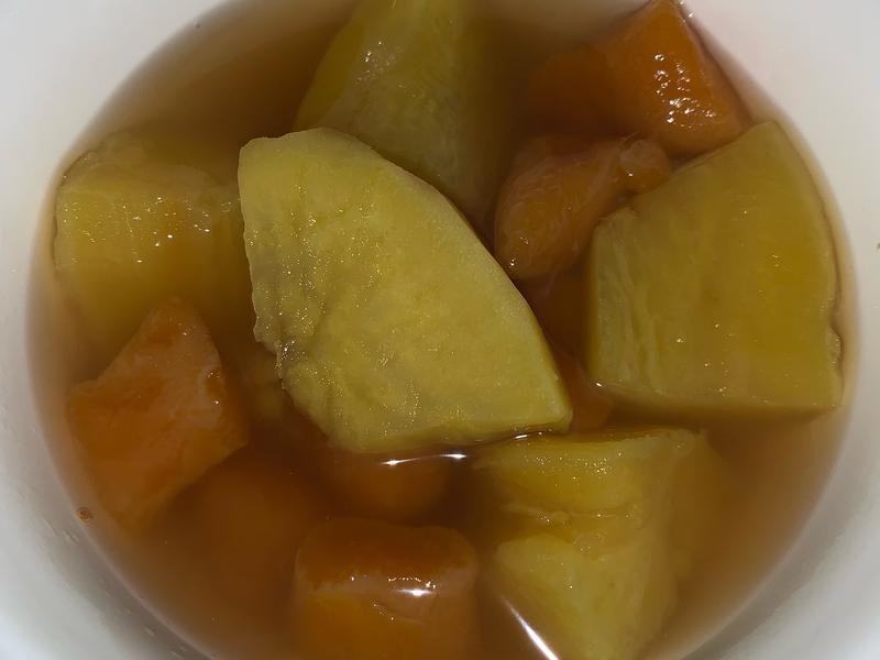 蜜薯甜湯圓