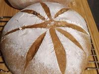 黑糖核桃香歐式麵包
