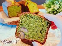 抹茶栗子磅蛋糕~旅行野餐的好夥伴
