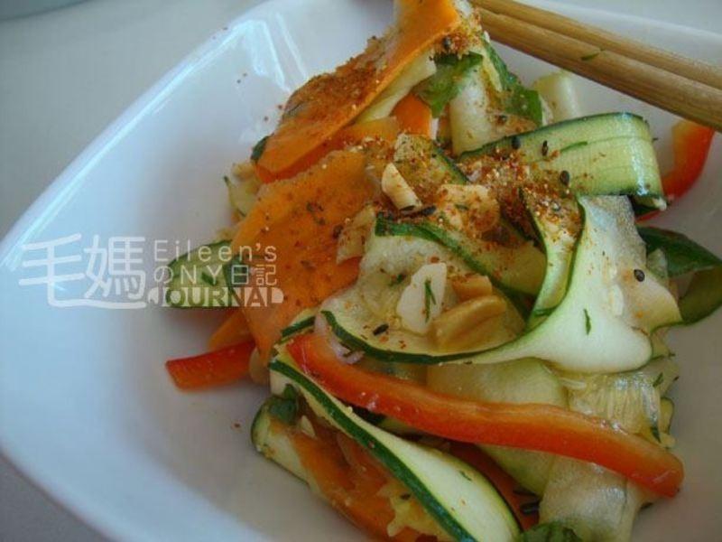 櫛瓜(Zucchini)火腿沙拉
