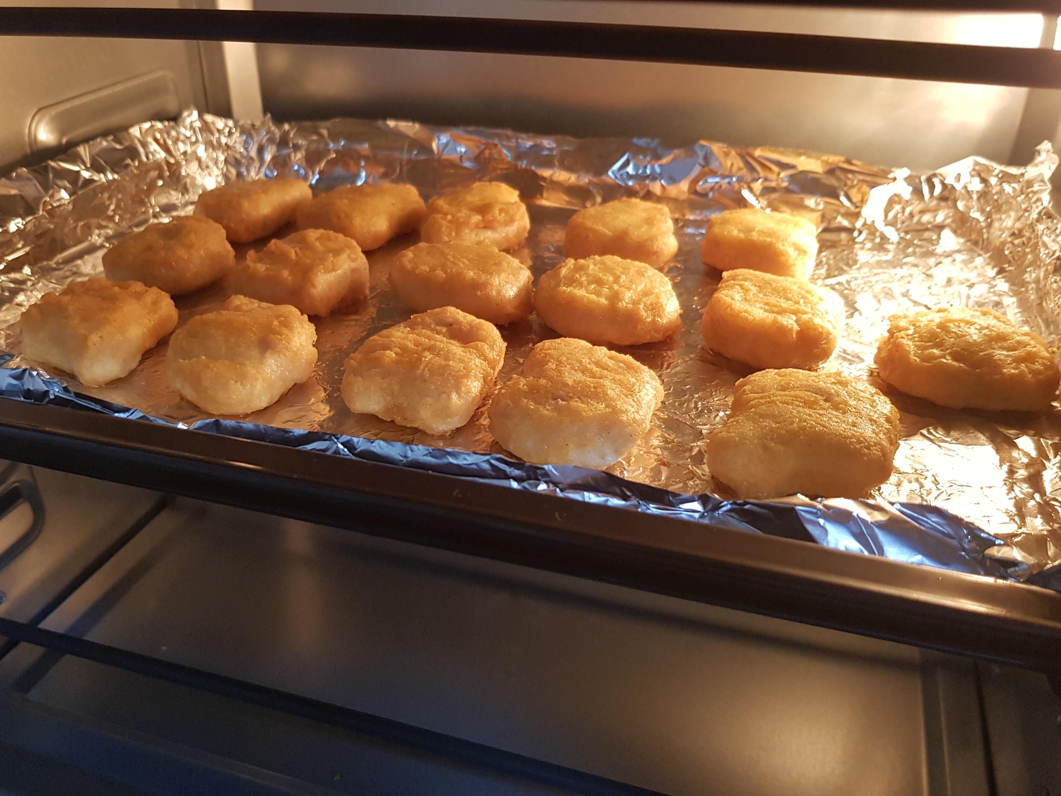 烤雞塊(烤箱)