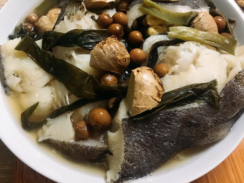 破布子蒸豆腐鱈魚