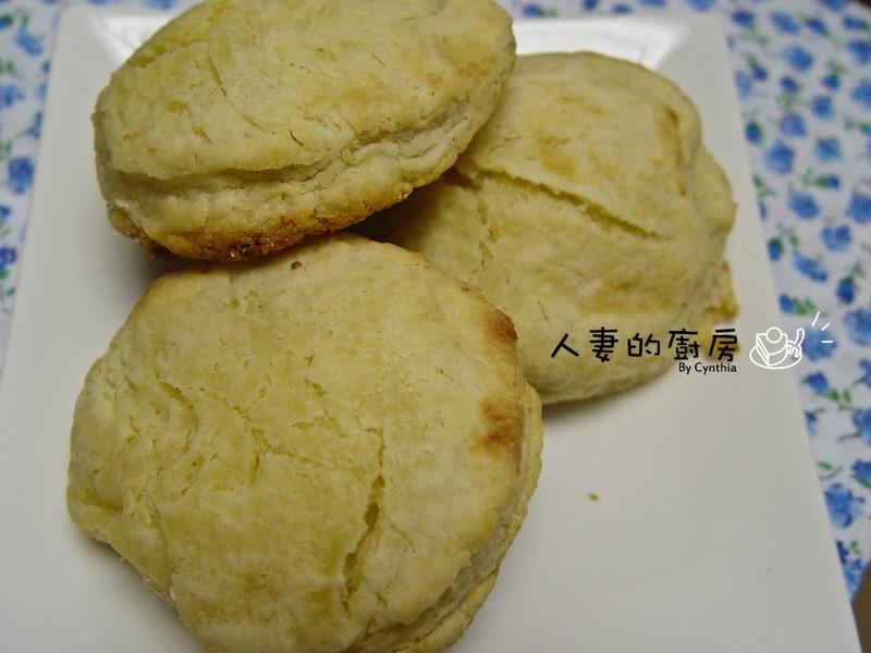 超簡單比司吉(Buttermilk Biscuits)無打發粉