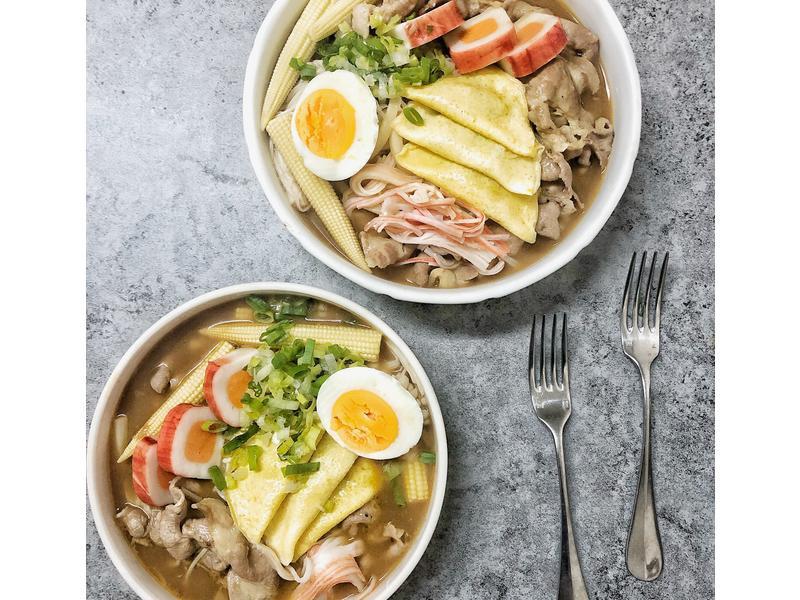 日式湯咖喱烏龍麵