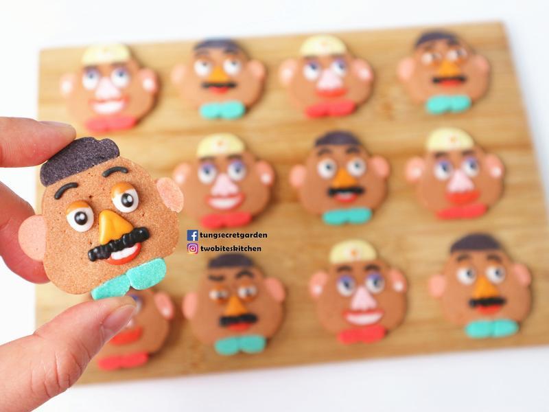 薯蛋頭先生&太太冰盒餅乾