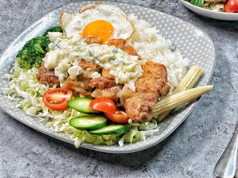 日式優格塔塔醬雞腿排