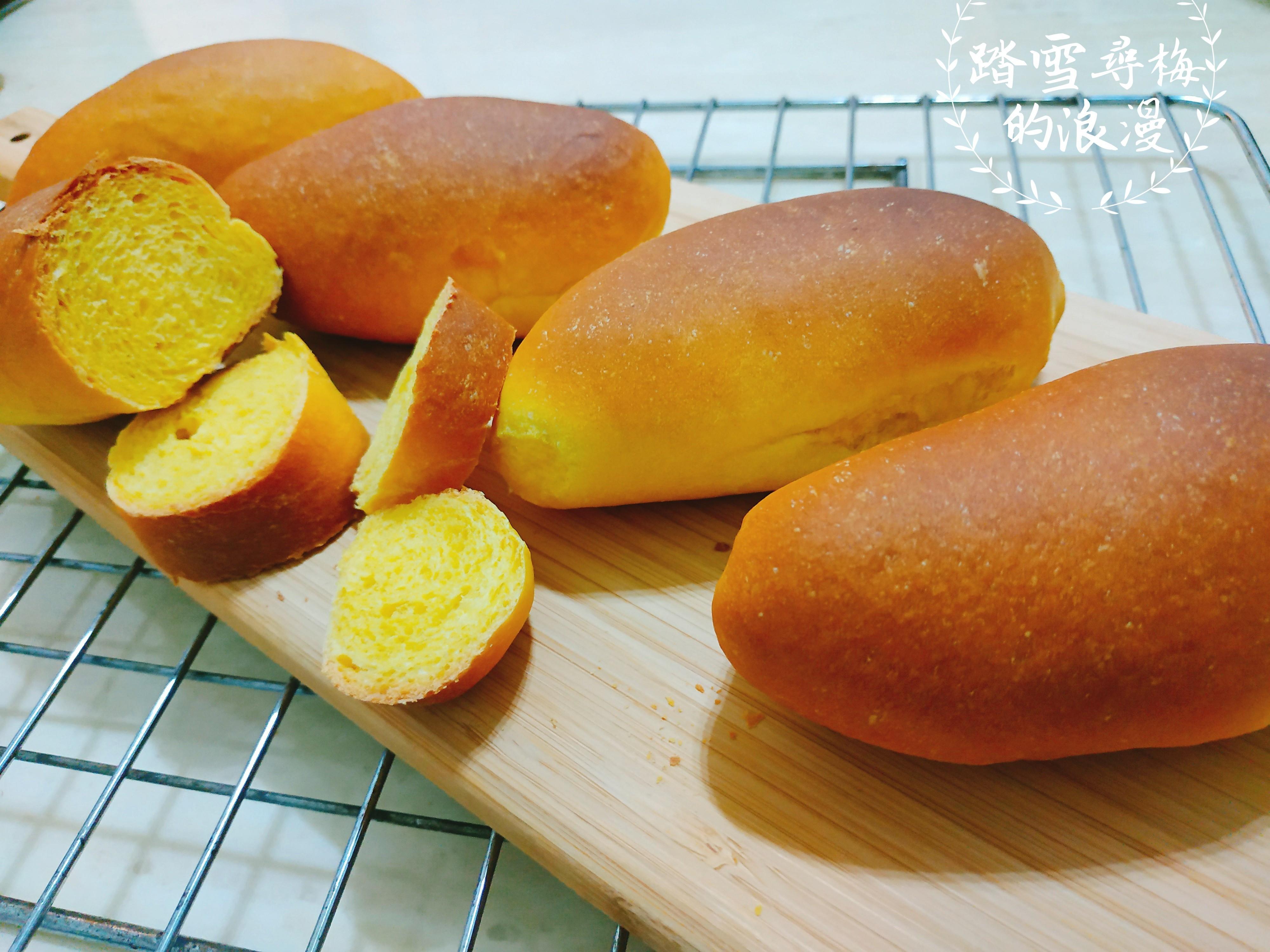 南瓜橄欖型餐包