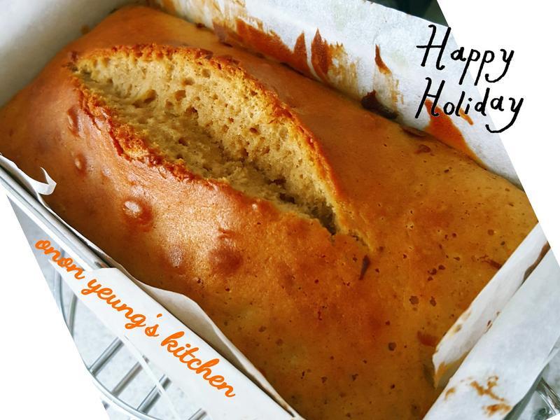 蘭姆風味葡萄乾 玉桂磅蛋糕