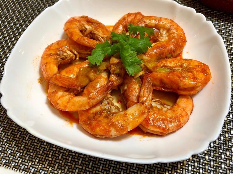 蒜香胡椒蝦