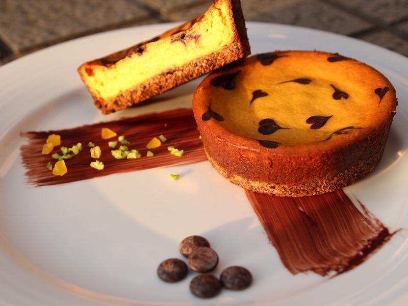 巧克力南瓜乳酪蛋糕