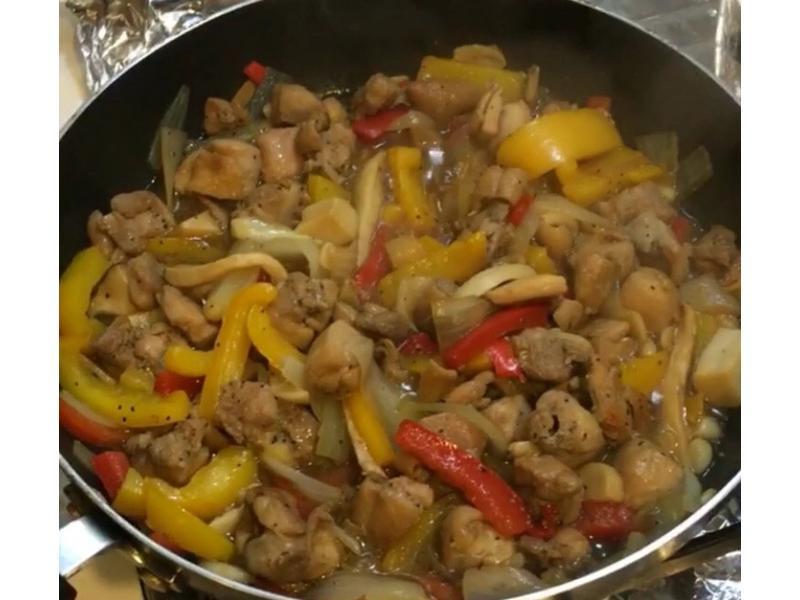 醬燒蔬菜雞肉