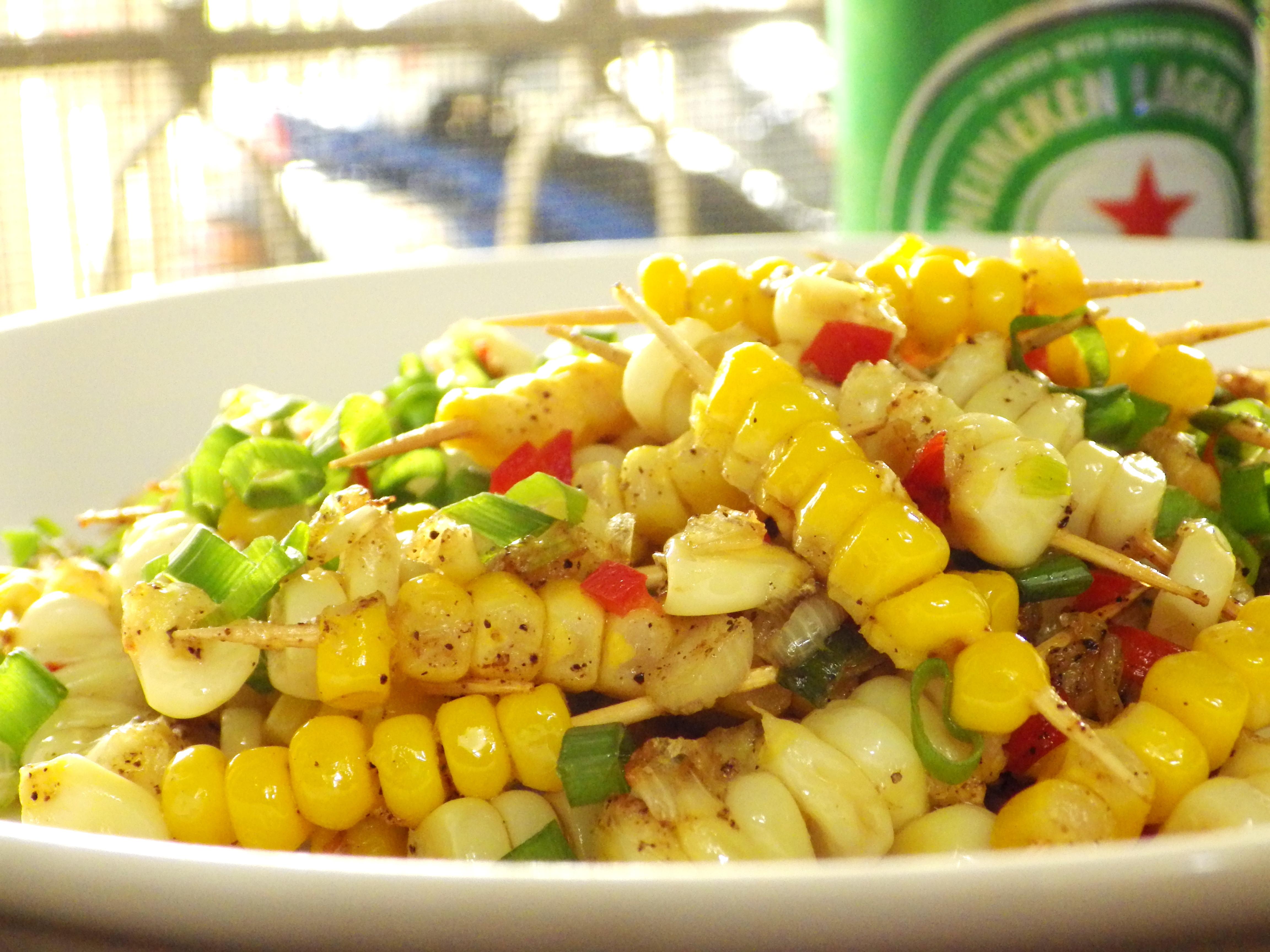 椒鹽玉米串