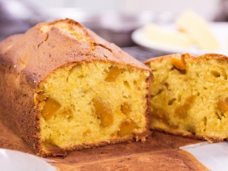 南瓜磅蛋糕