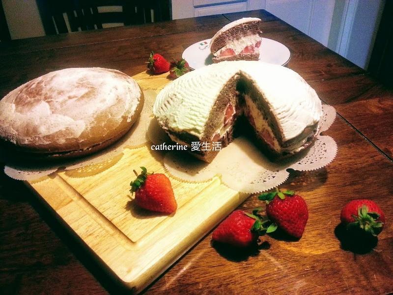 草莓法芙娜可可波士頓派 - 乾爽不裂不縮