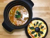 西式牛肉蕃茄湯+瑪格麗特披薩