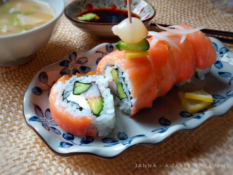 煙燻鮭魚壽司