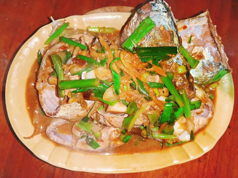 茄汁紅燒鯖魚
