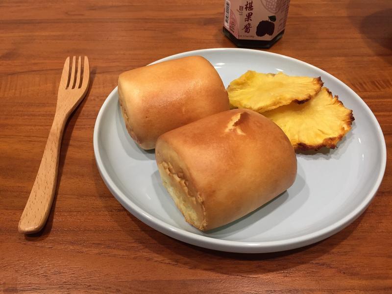鳳梨乾&烤銀絲卷&鳳梨綠茶 氣炸版烤箱版