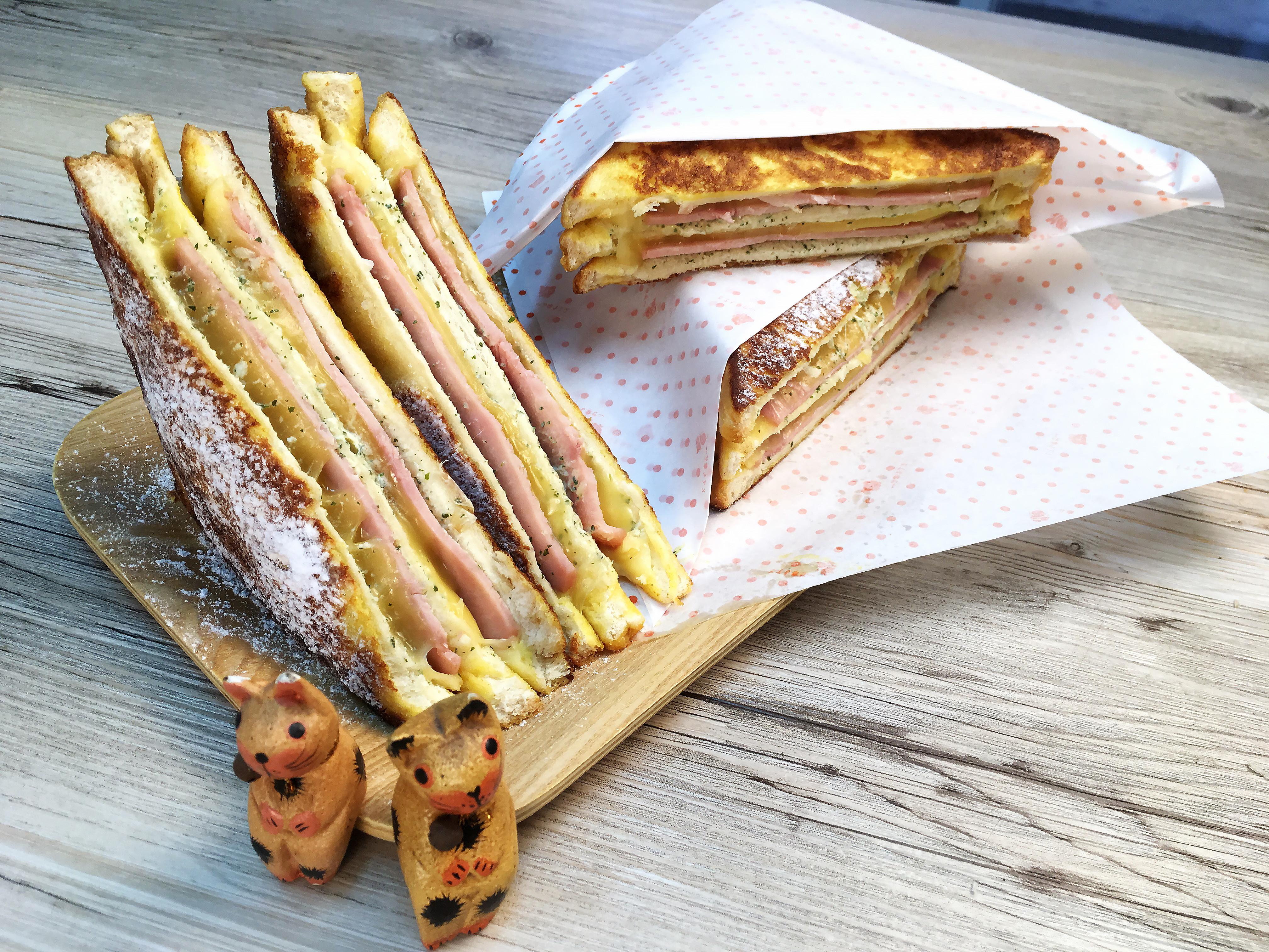簡易早餐【法式乳酪吐司】