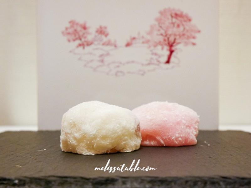日式櫻花豆沙大福(桜の花小餅)