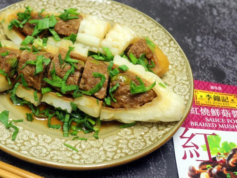 苦瓜紅燒蒸肉【李錦記紅燒鮮菇醬汁】