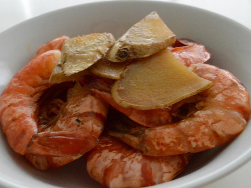 [Serena 上菜] 麻油蝦