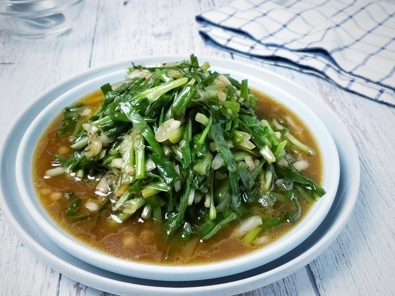蝦醬炒珠蔥/5分鐘下飯菜