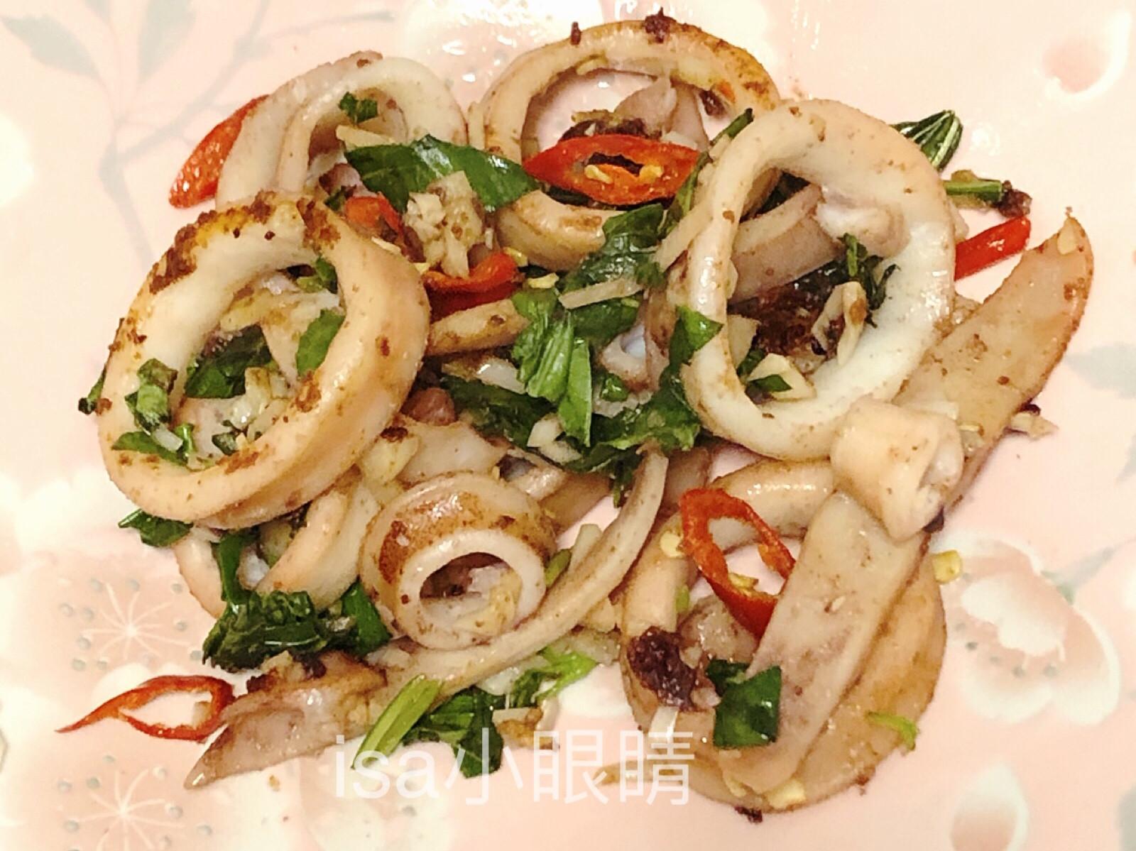 蒜香魷魚圈🦑