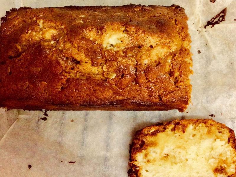 焦糖海鹽磅蛋糕