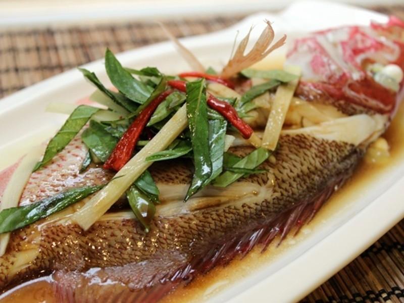 清蒸魚 (紅雞母)