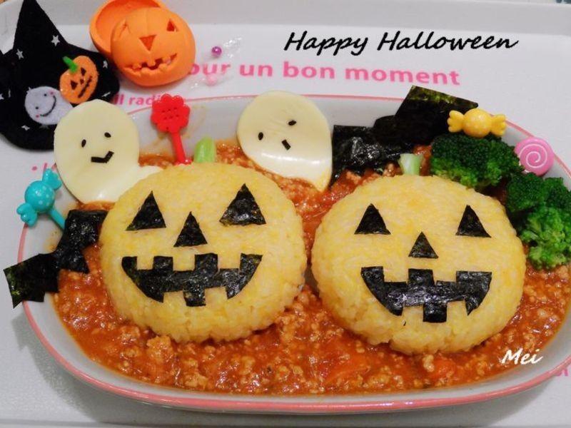 Happy Halloween飯飯~ 不給糖~就給飯!^^