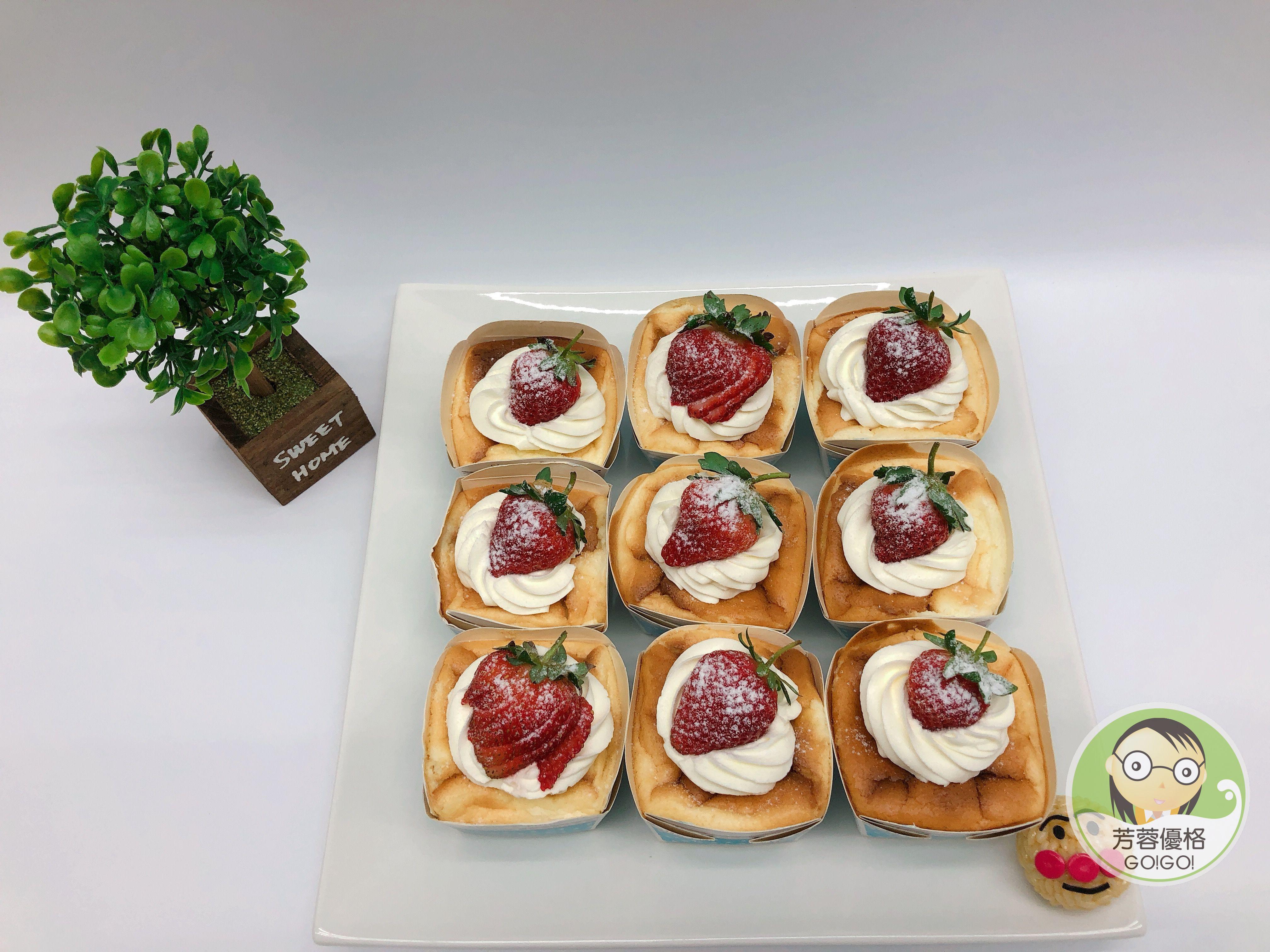草莓優格奧利奧乳酪杯子蛋糕