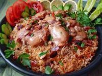 電鍋~沙烏地香料雞肉飯Kabsa