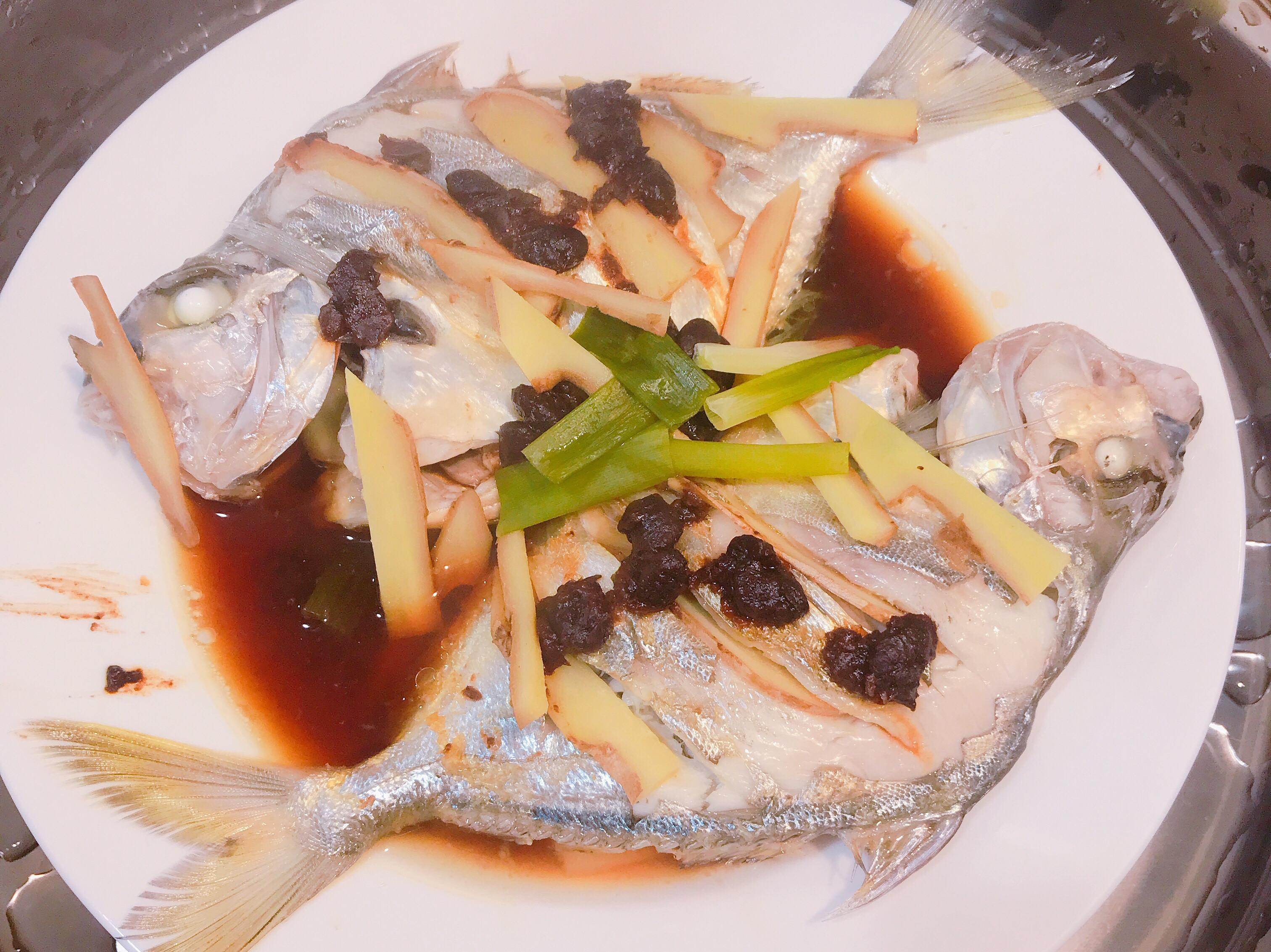 清蒸豆鼓魚🐟