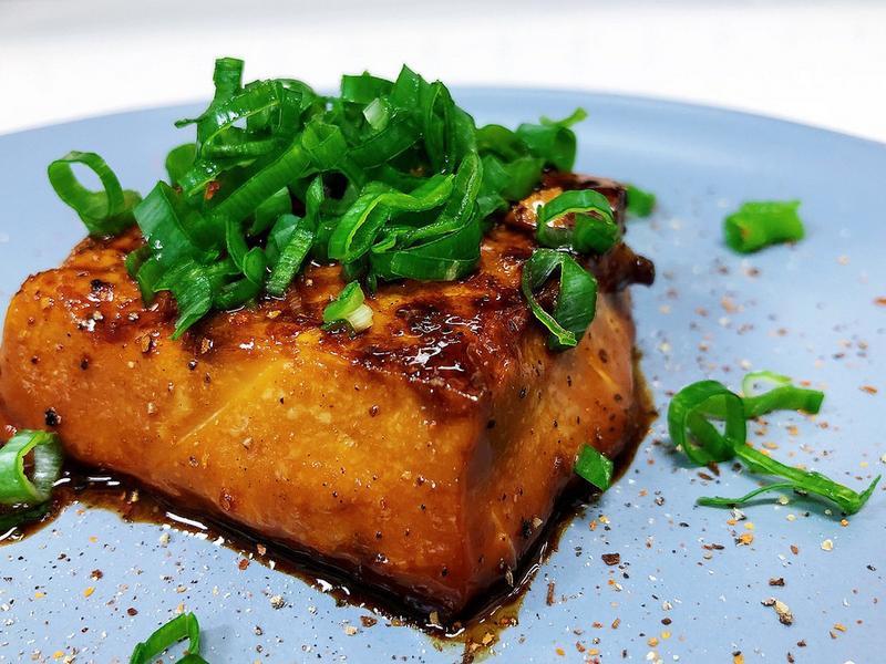 奶油香煎豆腐