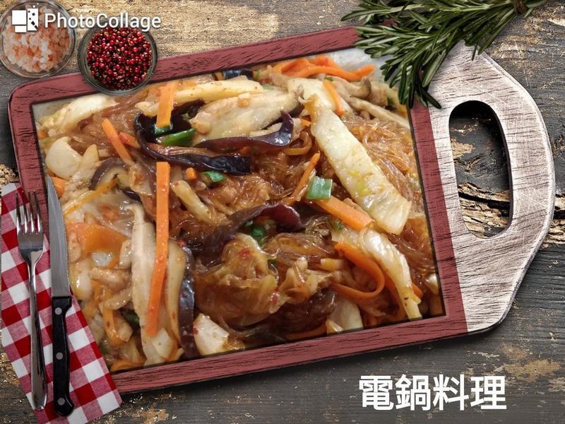 韓式泡菜炒冬粉