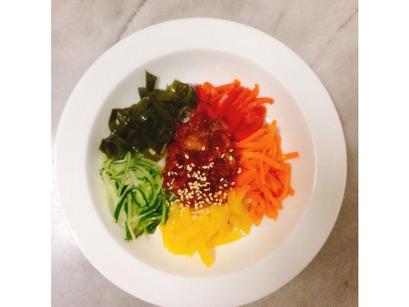 韓式拌飯(五辛素)